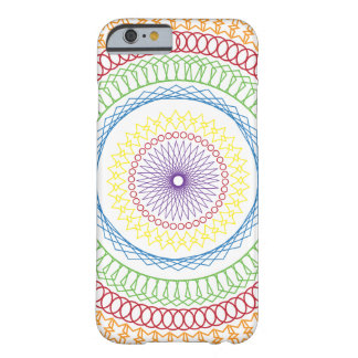Rainbow Colored Pattern iPhone 6 Case/Skin Barely There iPhone 6 Case
