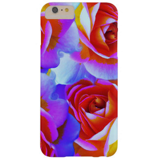 Rainbow Colored Roses Barely There iPhone 6 Plus Case