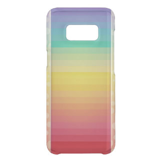 Rainbow Colored Stripe Pattern Uncommon Samsung Galaxy S8 Case