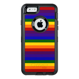 Rainbow Colored Stripes OtterBox iPhone 6/6s Case