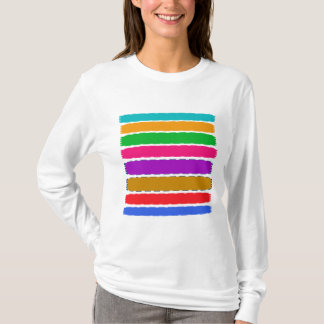 Rainbow Colorful Stripe Tshirts