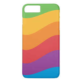 Rainbow Colors Apple Case