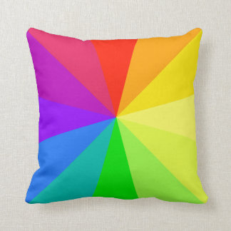 Rainbow Colors Art Cushion