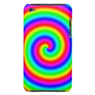 Rainbow Colors. Bright and Colorful Spiral. iPod Touch Covers