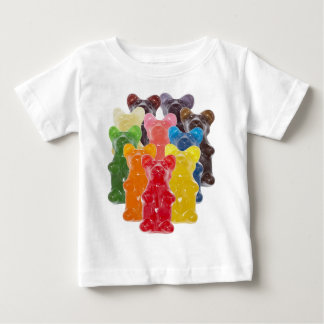 rainbow colors candy lover gummy bear baby T-Shirt