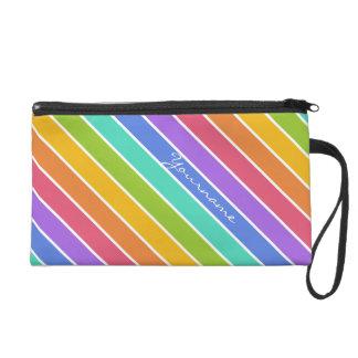Rainbow Colors custom accessory bags