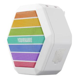 Rainbow Colors custom bluetooth speaker