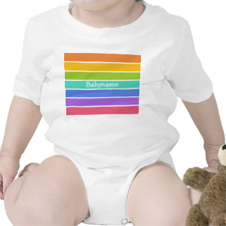 Rainbow Colors custom clothing Rompers