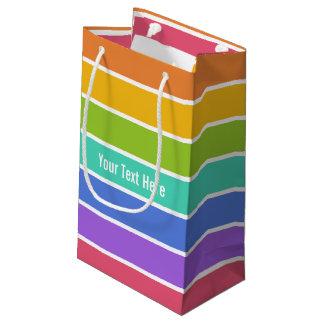 Rainbow Colors custom gift bags