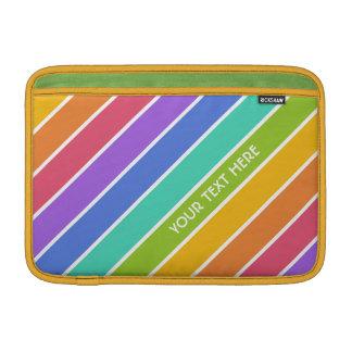 Rainbow Colors custom MacBook sleeves