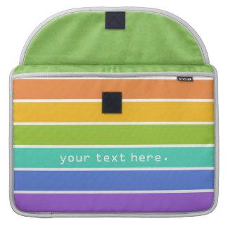 Rainbow Colors custom MacBook sleeves Sleeve For MacBook Pro