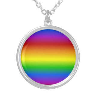 Rainbow Colors custom necklace