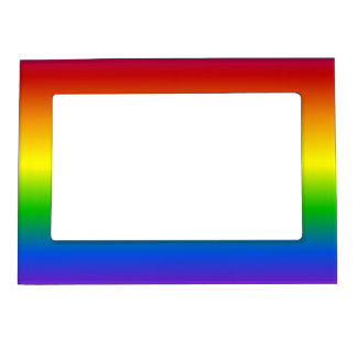 Rainbow Colors custom picture frame