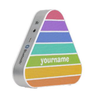 Rainbow Colors custom speaker