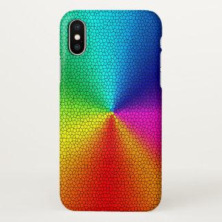 rainbow colors design iPhone x case