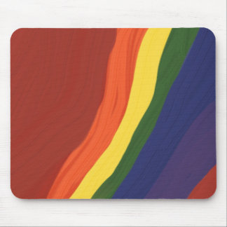 Rainbow Colors Mouse Mat