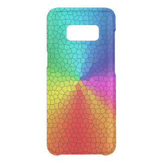 Rainbow colors uncommon samsung galaxy s8 case