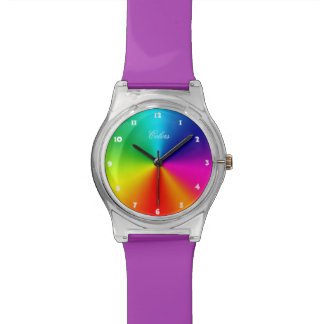 Rainbow Colors Watches