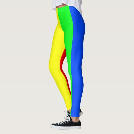 Rainbow colours, bright happy stunning stripes leggings