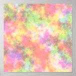 Rainbow Colours. Pretty, Colourful Clouds.