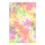 Rainbow Colours. Pretty, Colourful Clouds. Customized Stationery
