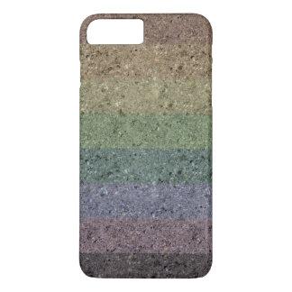 Rainbow Concrete Coated iPhone 7 Plus Case