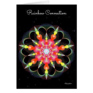 Rainbow Connection Card