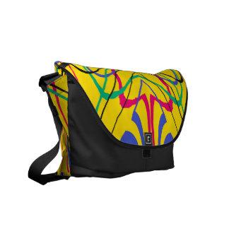 Rainbow Courier Bag