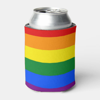 Rainbow Cozyness Can Cooler