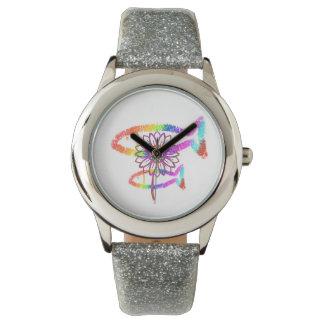 Rainbow Crayon Watch