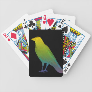 Rainbow Crow Bicycle Playing Cards