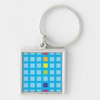 Rainbow Cubes Keychain