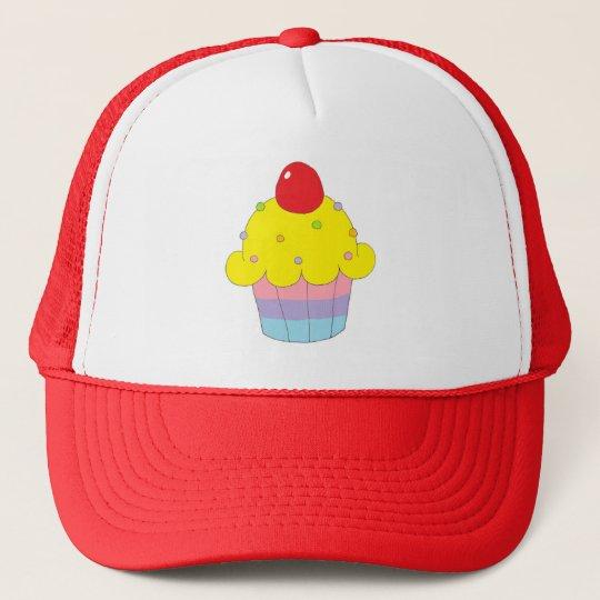 Rainbow Cupcake Cap