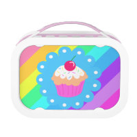 Rainbow Cupcake Lunchbox