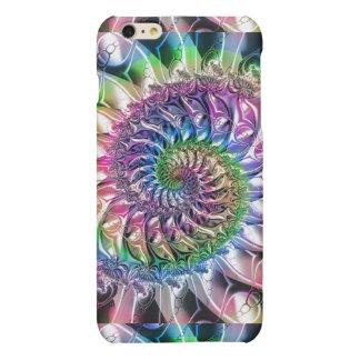 Rainbow Curl Spiral Fractal iPhone 6 Plus Case