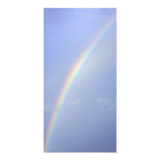 Rainbow Custom Photo Card