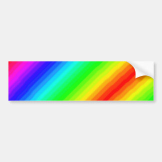 Rainbow Customizable Bumper Sticker