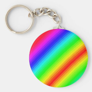 Rainbow Customizable Key Ring