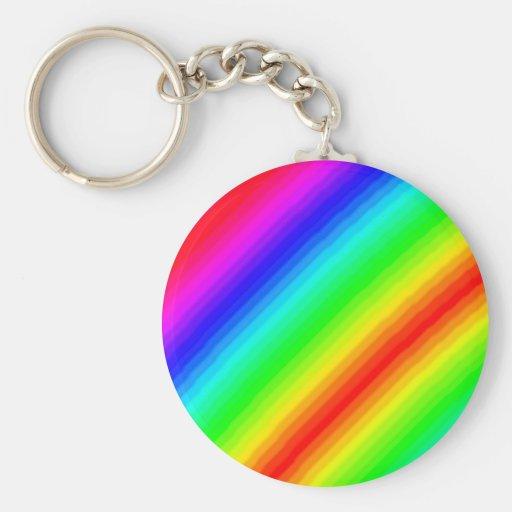 Rainbow Customizable Keychain