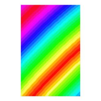 Rainbow Customizable Stationery