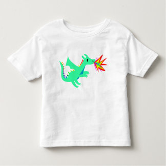 Rainbow cute dragon shirt for kids