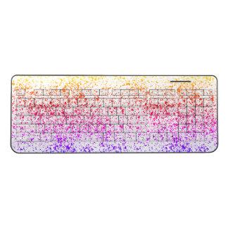 Rainbow Dalmatian Keyboard