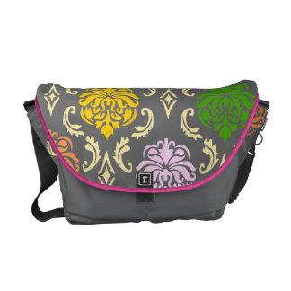 Rainbow Damask Bag Commuter Bags