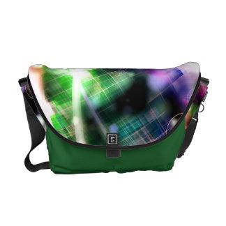 Rainbow Dance Circuitry Courier Bags