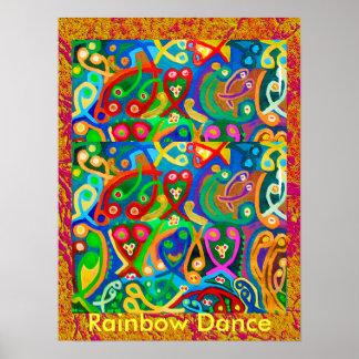 RAINBOW Dance Posters