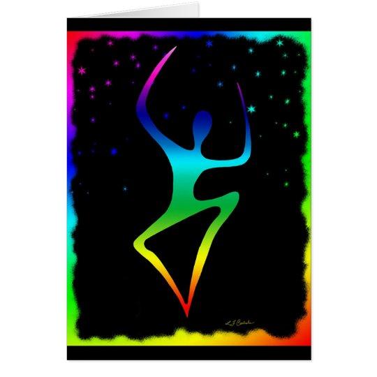 rainbow Dancer 3 Card