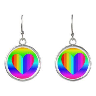 Rainbow Dangling Earrings