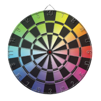 Rainbow Dartboard 3