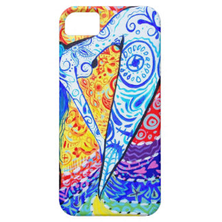 Rainbow Day of the Dead Mermaid iPhone 5 Cases