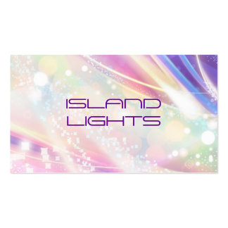 rainbow dazzle pack of standard business cards